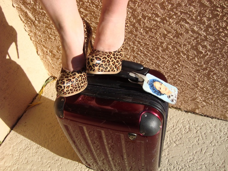 Rollerbag Goddess travel blogger Charish Badzinski