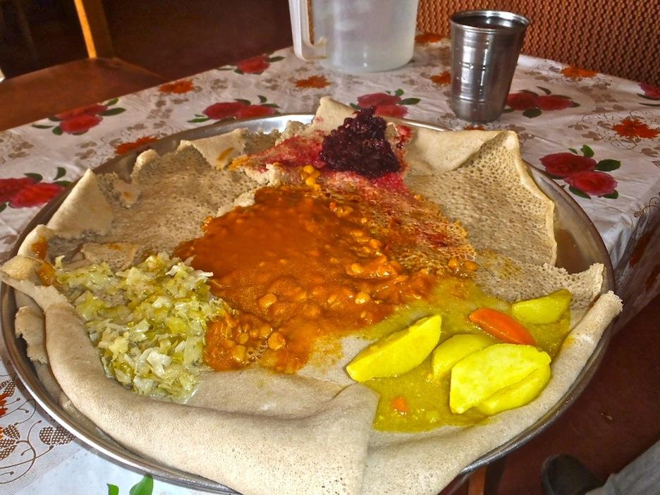 How To Make Injera Ethiopian Food