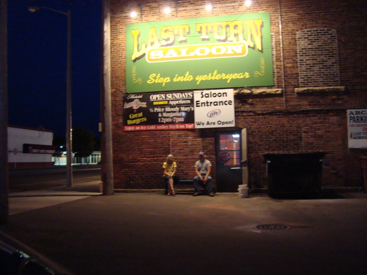The Last Turn Saloon in Brainerd, Minn. Can't wait to show a Mainer this awesome watering hole. Photo by Charish Badzinski.