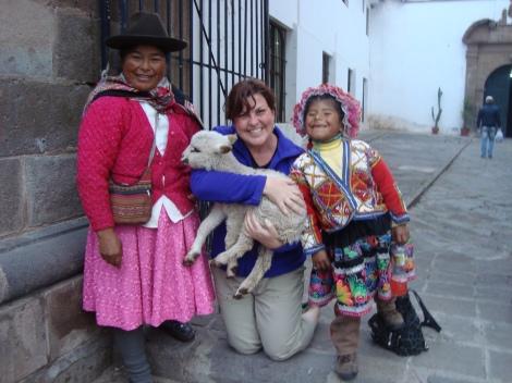 Gaining new perspective in Cusco, Peru. Photo by Joel Badzinski.