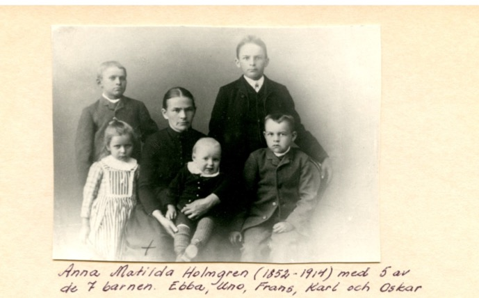 Anna Matilda with children