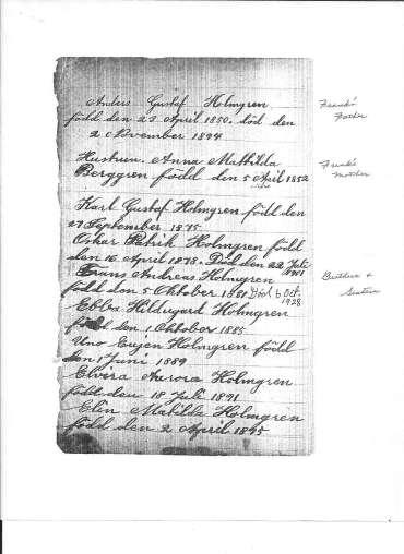 Holmgren bible page 2