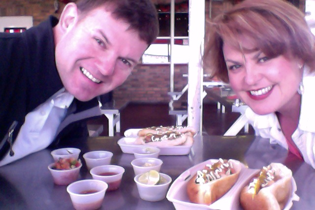 charish and joel sonoran hot dogs tucson