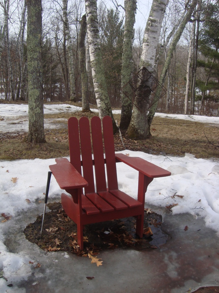 MN winter chair