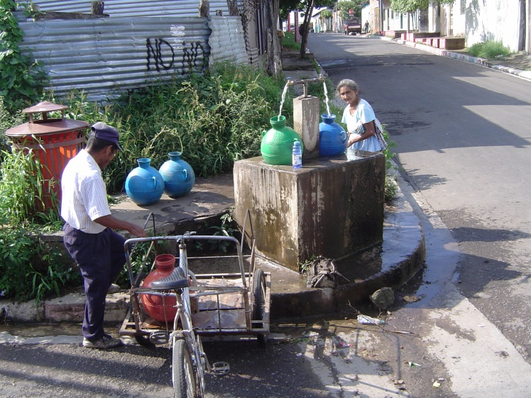 getting water Armenia 2