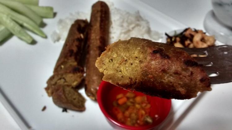 Vegan sai ua, or vegan Chiang Mai sausages recipe