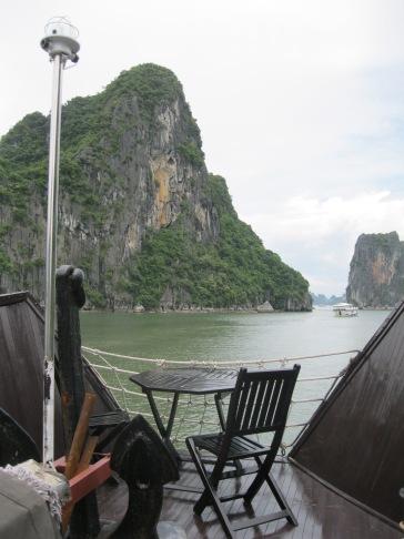 Treasure Junk cruise in Halong Bay, Vietnam