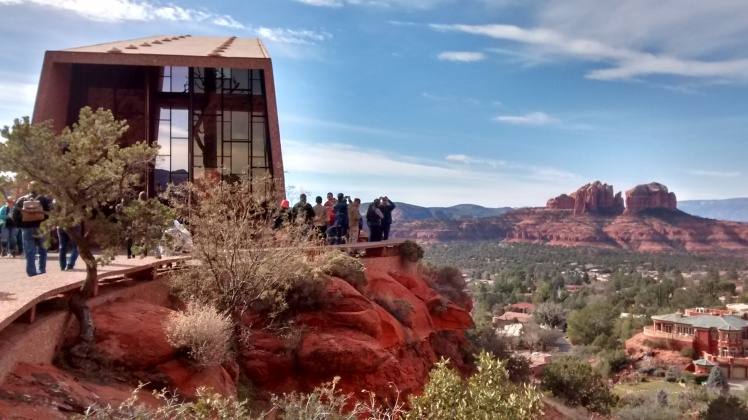 View from the chapel of the Holy Cross in Sedona