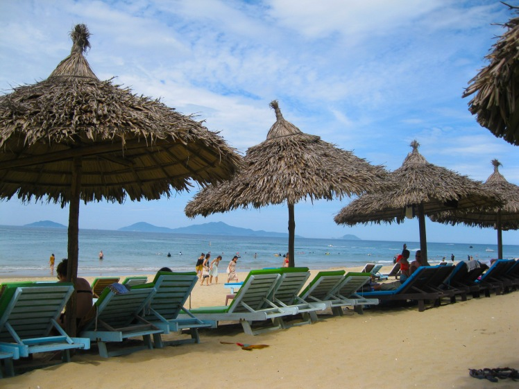 Beautiful An Bang beach in Hoi An, Vietnam. Photo by Charish Badzinski.
