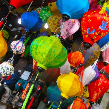 Lanterns in Hoi An. Photo by Charish Badzinski.