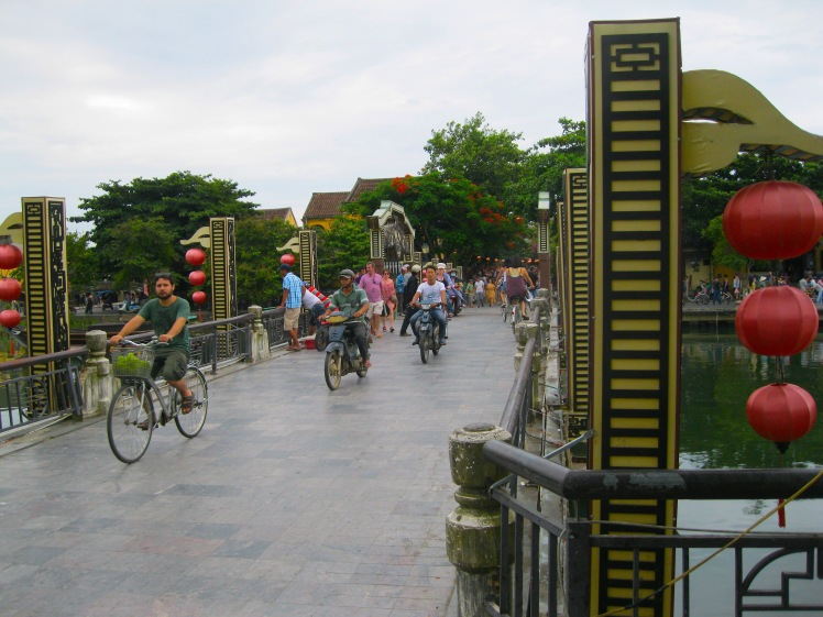 The Japanese Bridge in Hoi An. Photo by Charish Badzinski.