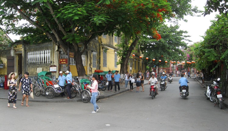 The old town section of Hoi An, Vietnam. Historic and charming. Photo by Charish Badzinski.