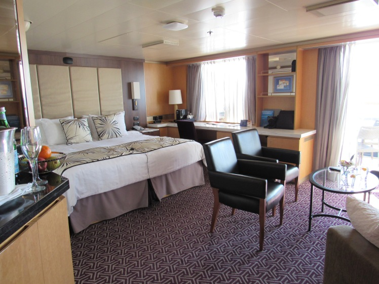 Holland America MS Oosterdam luxury suite
