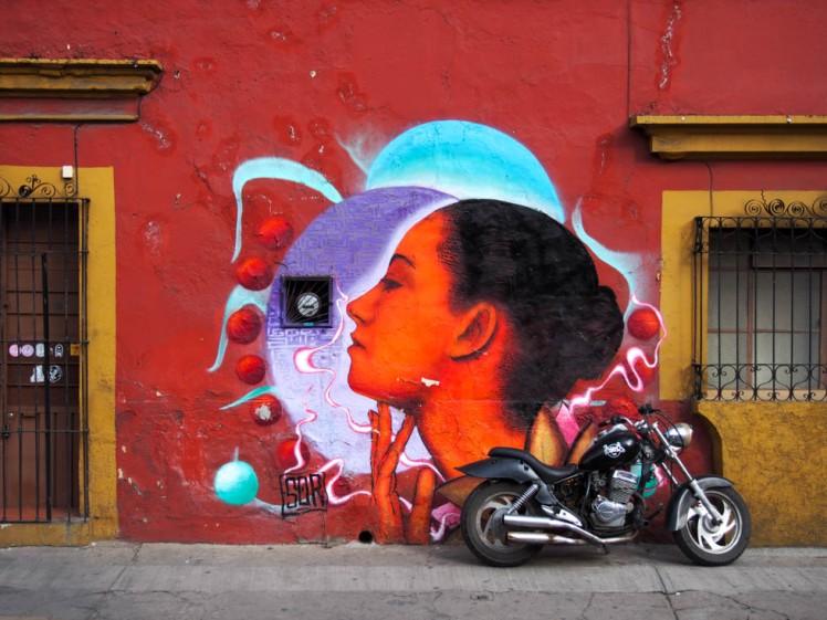 Oaxaca street art.