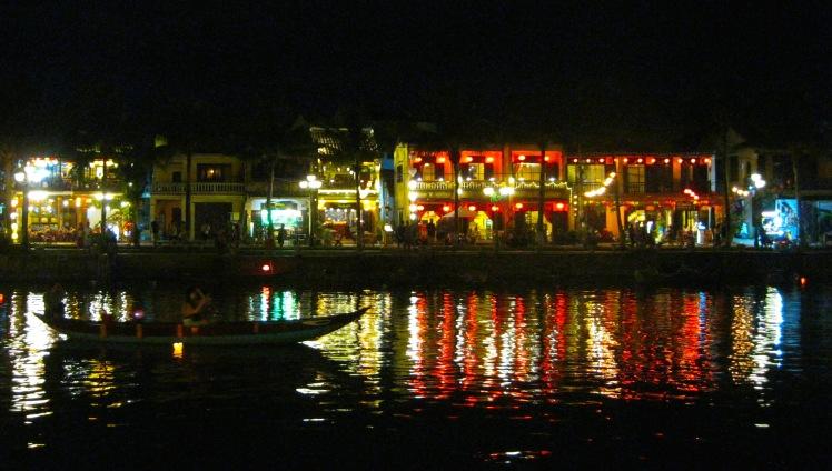 The city of Hoi An by night. Photo by Charish Badzinski.