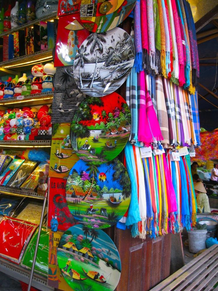 Souvenirs in Hoi An, Vietnam. Photo by Charish Badzinski.