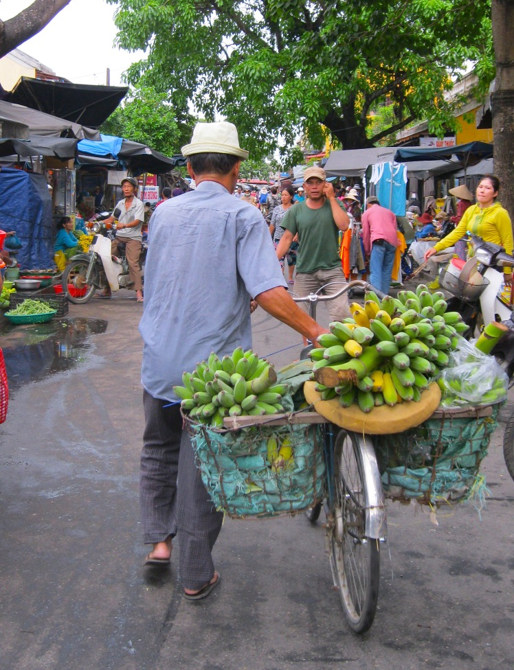 The Central Market in Hoi An, Vietnam. Photo by Charish Badzinski.