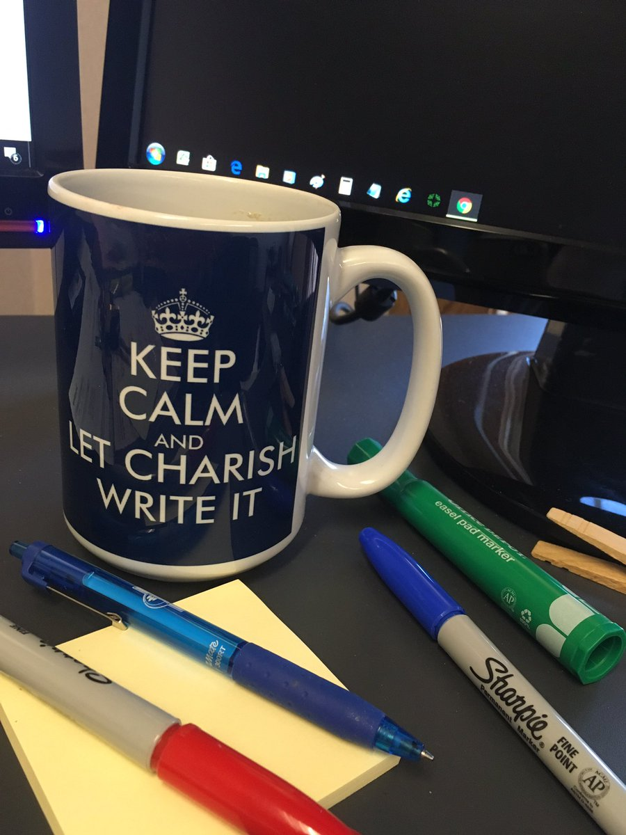 keep calm and let charish write it
