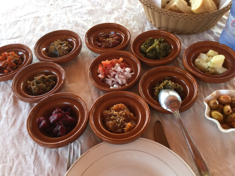 traditional moroccan salads