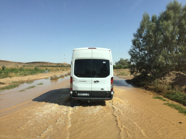 Transformational travel can be intense, like driving through flooded roads