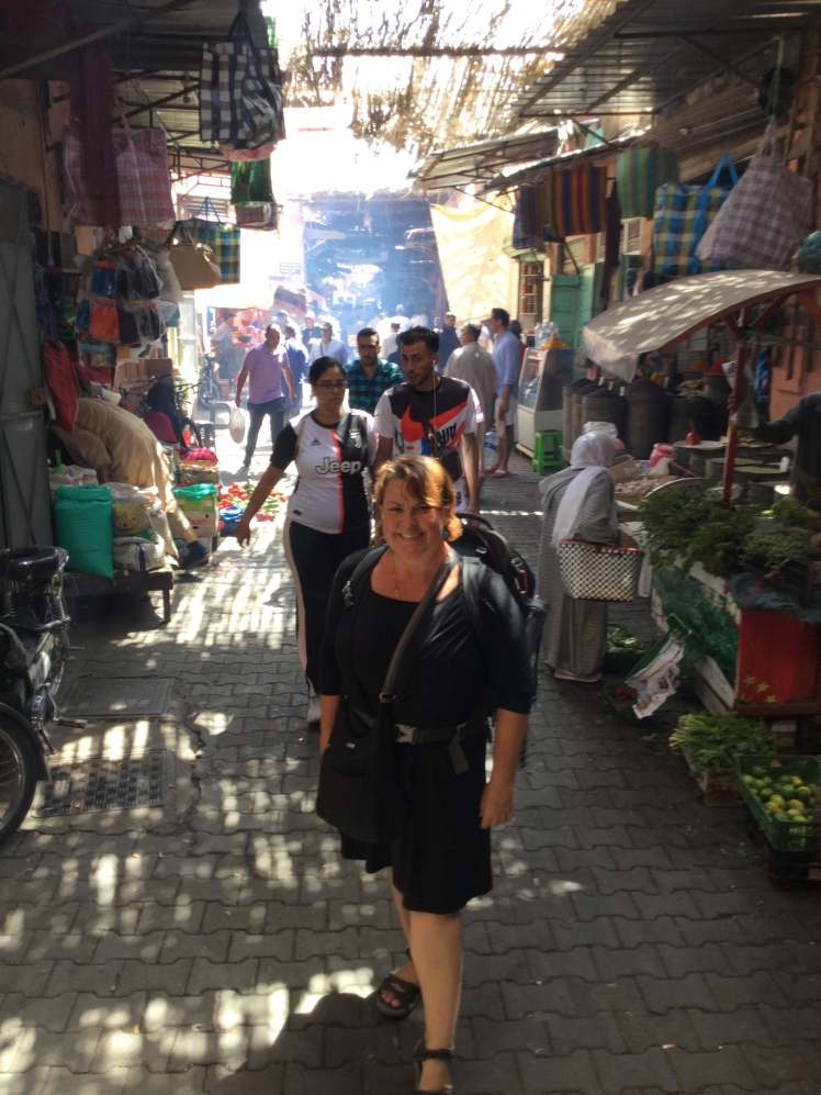 traveler Charish Badzinski in Marrakech
