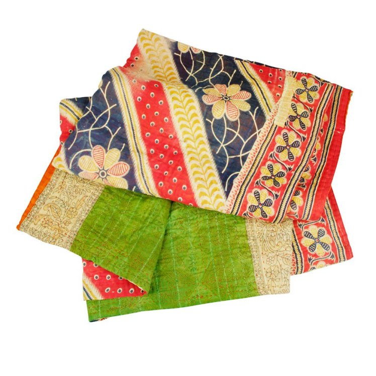 sacred sari throw