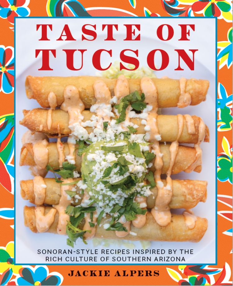 taste of Tucson cookbook cover by Jackie Alpers copy